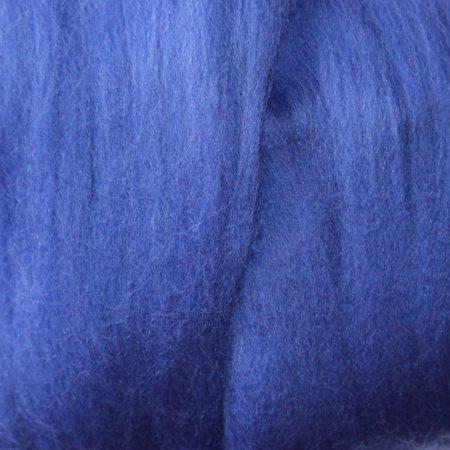 merino wool tops bluebell single color blue