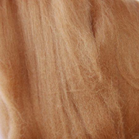merino wool top single color taupe brown