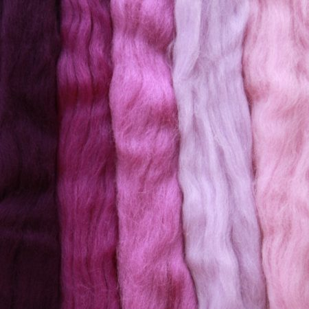 merino wool tops purple medley