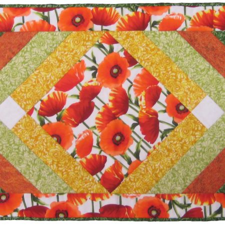 chevron table runner pattern