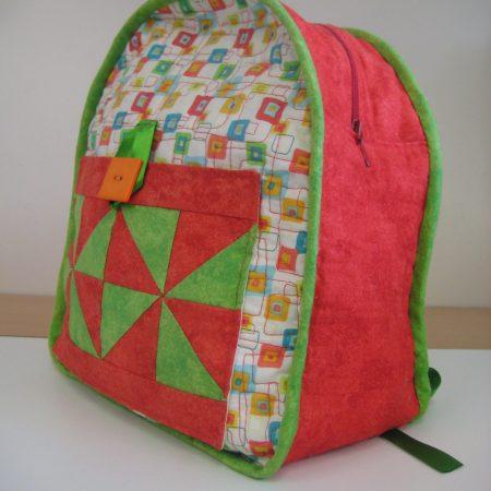 backpack for little ones patchwork bag children