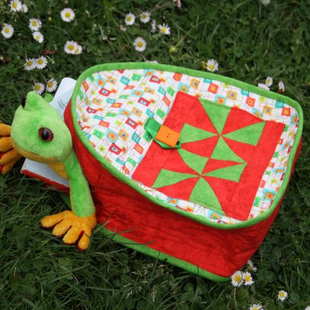backpack for little ones patchwork bag children