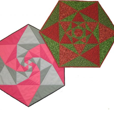 Hexagon centre piece pdf pattern