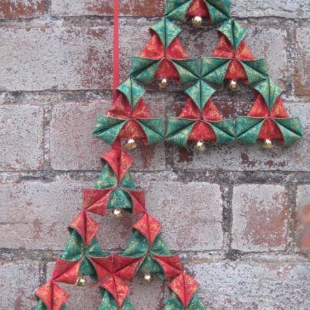 Christmas triangle decoration pattern pdf