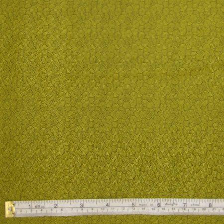 green scroll on green