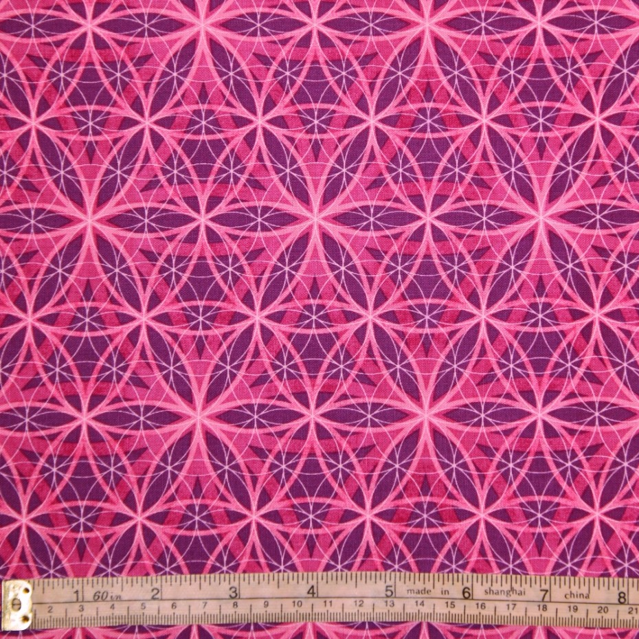 flower of life on lilac