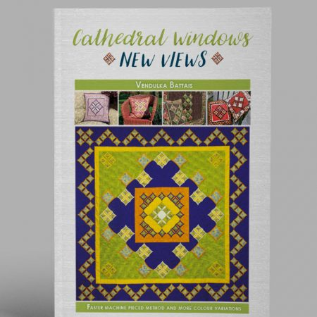 Cathedral window book by Vendulka Battais