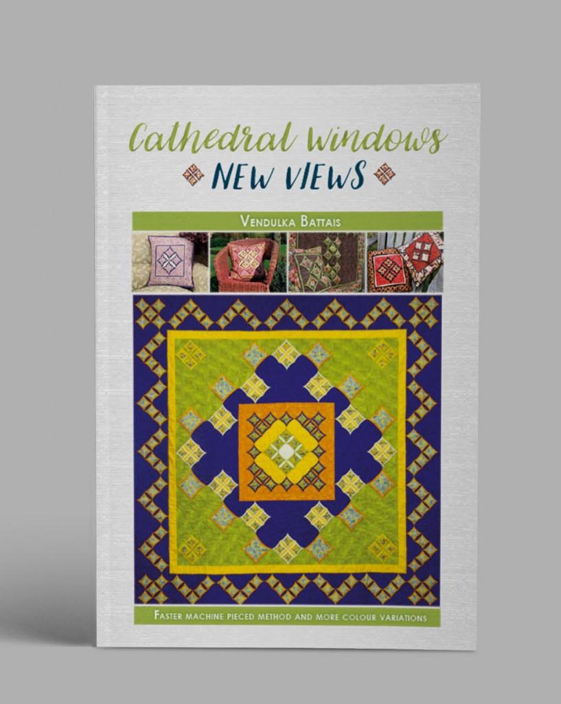 Cathedral window book by Vendulka Battais