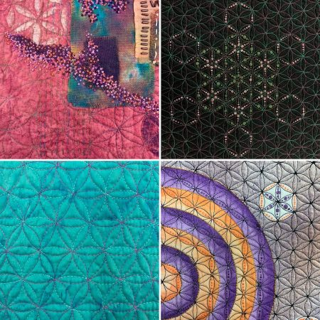 flower of life quilting design